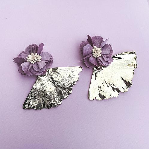 Ginko Flower Earrings