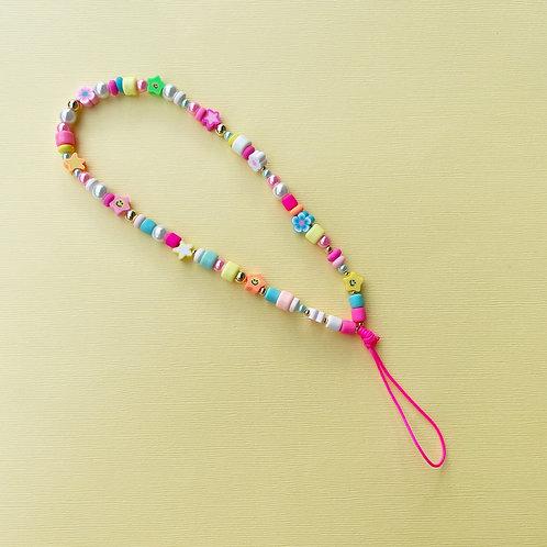 Pastel & Pearls Phone Strap