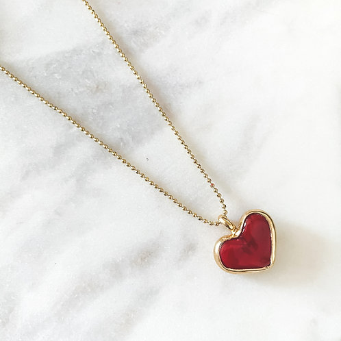 Mi Corazón Necklace