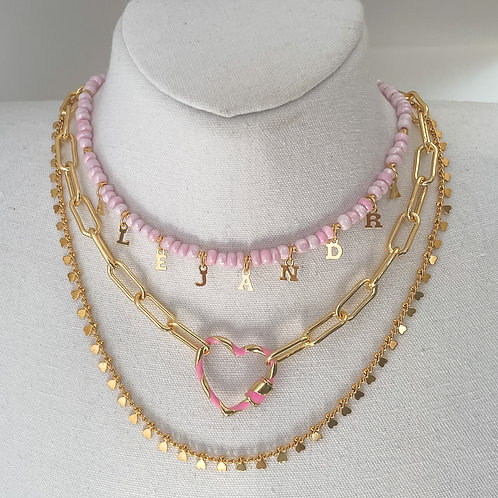 Candy Clasp Necklace B