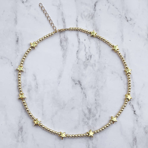 Hematite Stars Choker / Necklace
