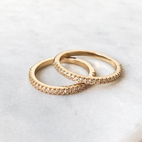 Zirconia Stackable Rings