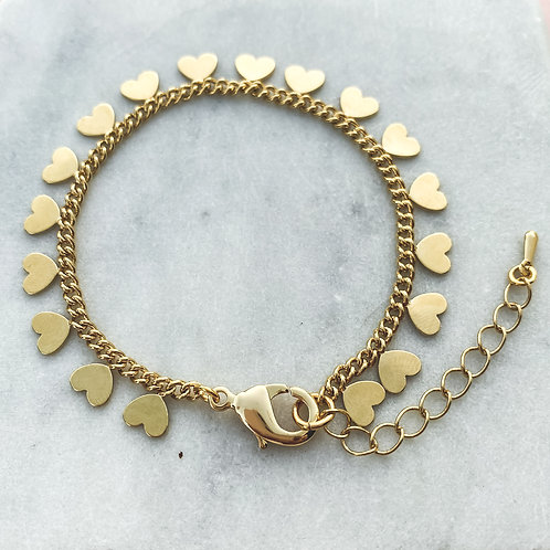 Heart Accent Bracelet