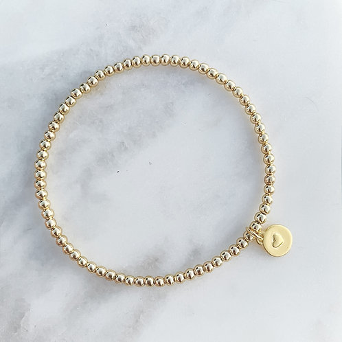 Sweet Heart Bracelet Gold