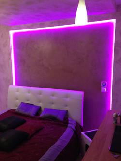Eclairage led chambre