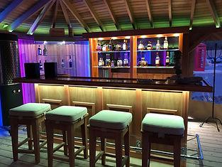Luminaires Sciola Import, bandes led, réalisation Oneagain lougne St Triphon