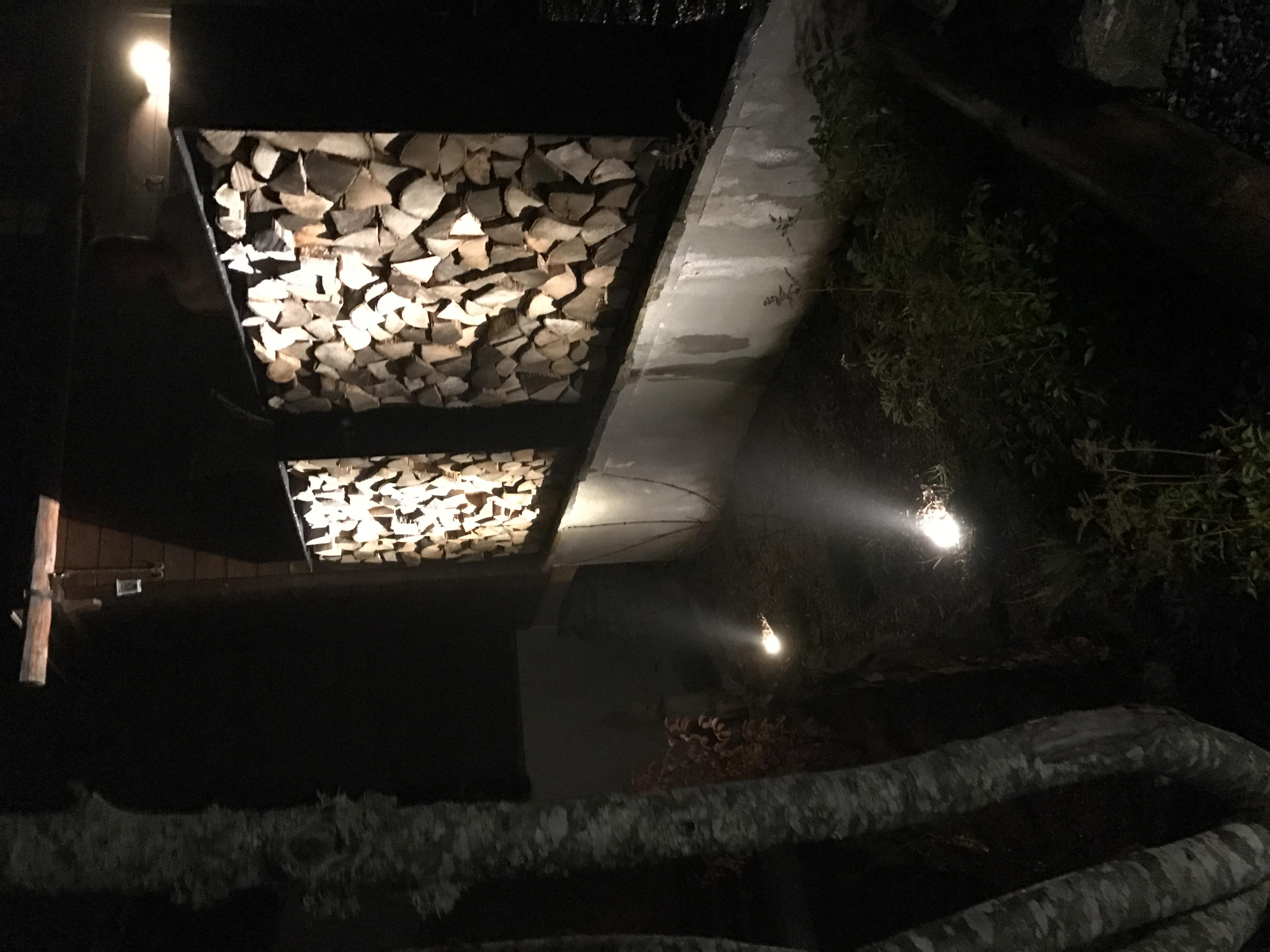 Eclairage extérieur avec spots led