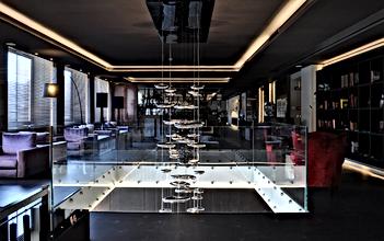 Suspension led, luminaires Artemide Italie, lux salon
