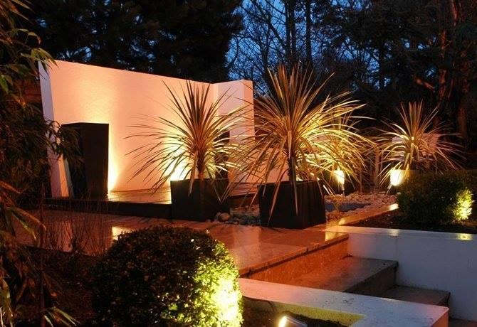 Eclairage led jardin