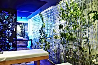 Eclairage led salon de massage
