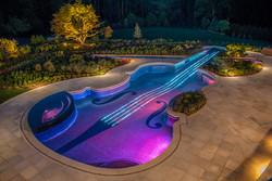 Eclairage led piscine