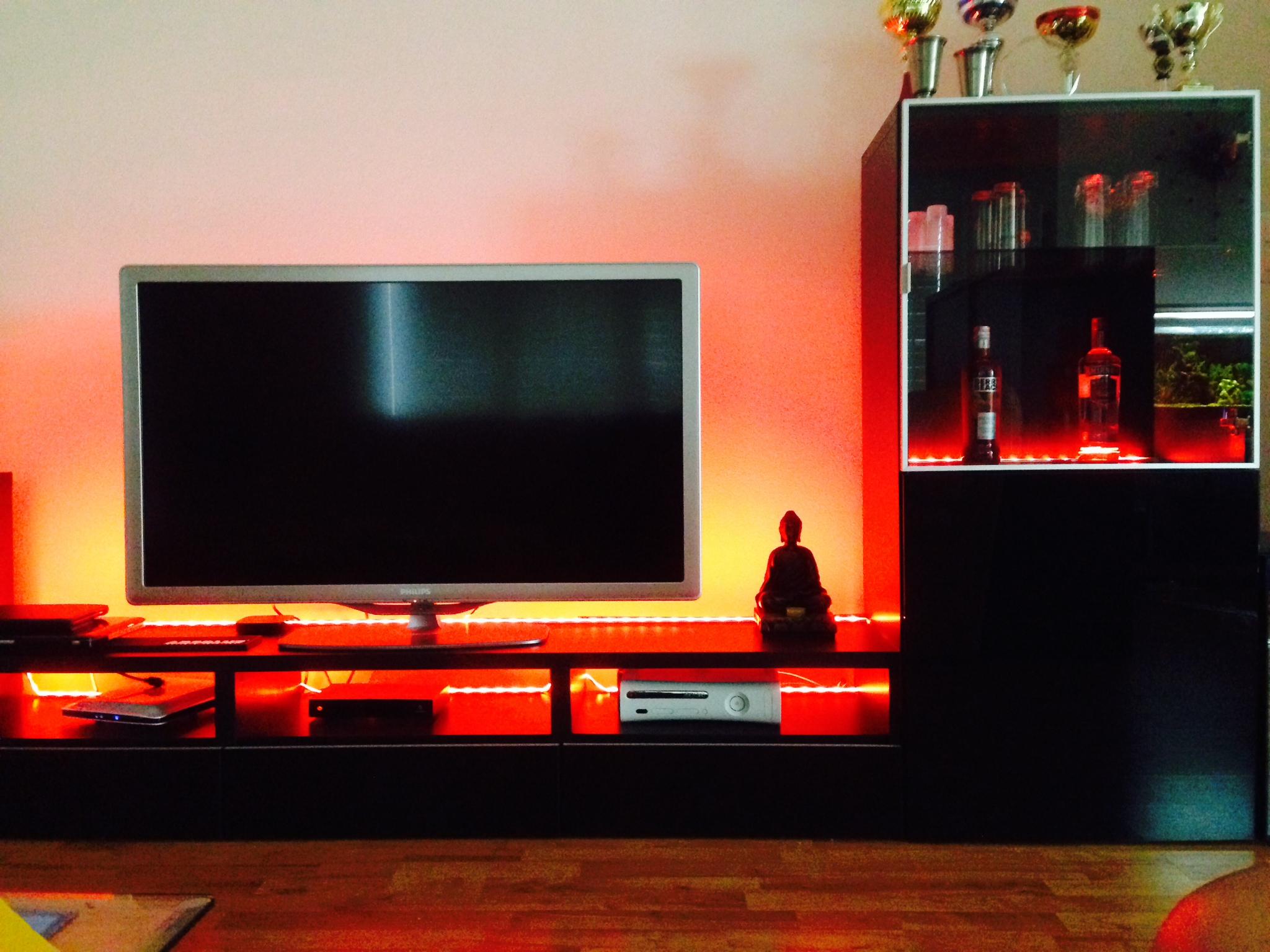Eclairage meuble tv