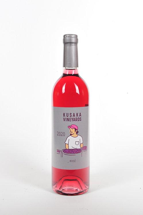 KusakaVineyards rosé 2020