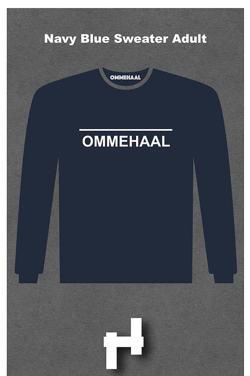 Navy Blue Sweater Adult
