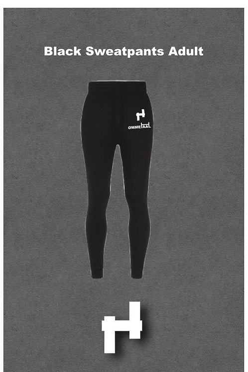 Black Sweatpants Adult