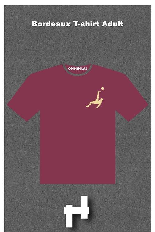 Bordeaux T-shirt Adult
