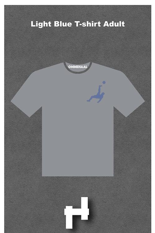 Light Blue T-shirt Adults
