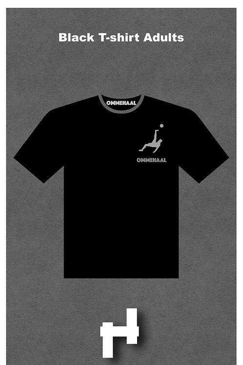 Black T-shirt Adult