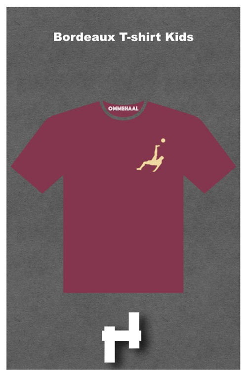 Bordeaux T-shirt Kids