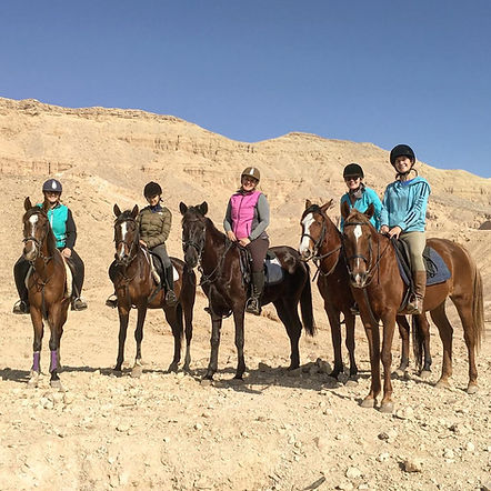 riding tour group