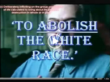 WHITE GENOCIDE - THE EVIDENCE EXPLAINED