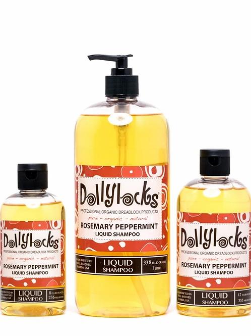 Rosemary Peppermint Liquid Shampoo 8oz
