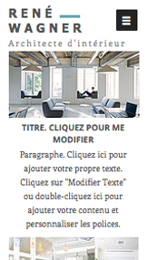 Immobilier website templates – Portfolio Architecte