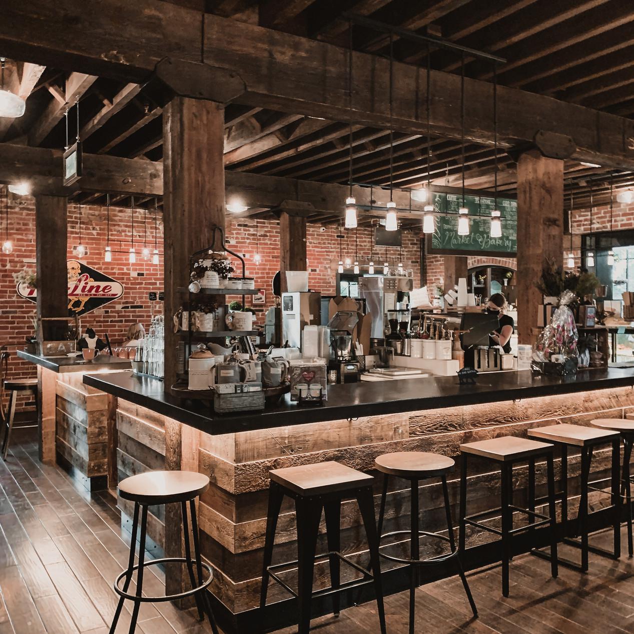 Bar at Ginger and Baker