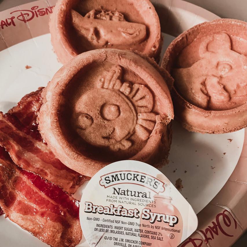 Disney Waffles