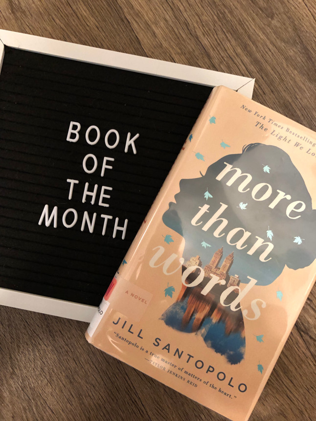 April Book of the Month