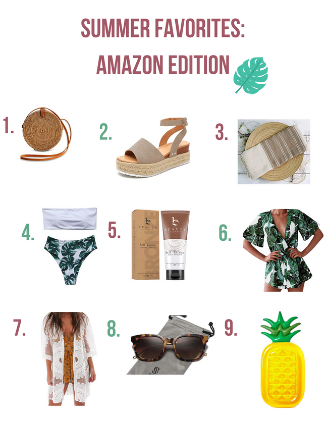Summer Favorites: Amazon Edition