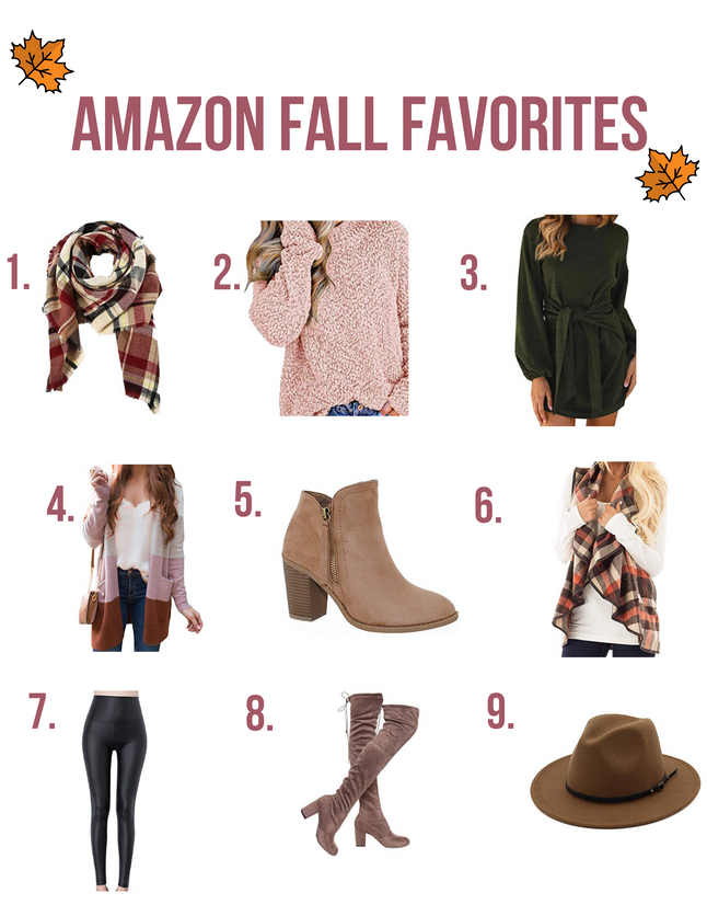 Amazon Fall Favorites for 2019