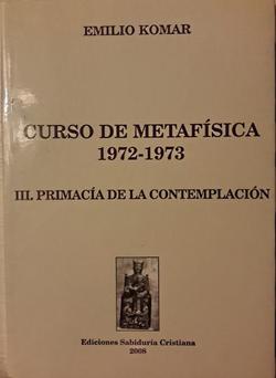 Metafísica III, 2008