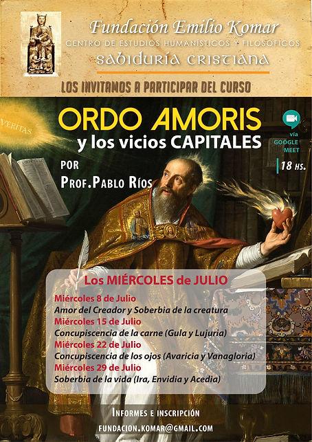 Pablo Rios Ordo amoris y vicios capitale