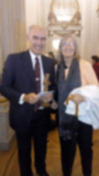 Premio Santa Clara de Asis a Juan Leverm