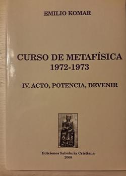 Metafísica 4, 2009