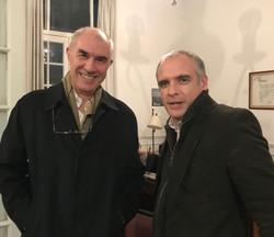 Juan Levermann y Nico Milhas