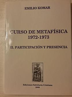 Metafísica  II 2008