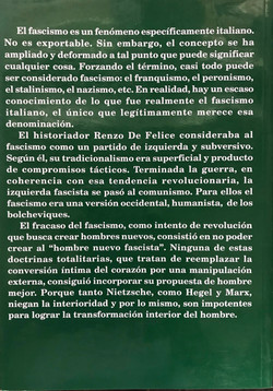 Fascismo contratapa