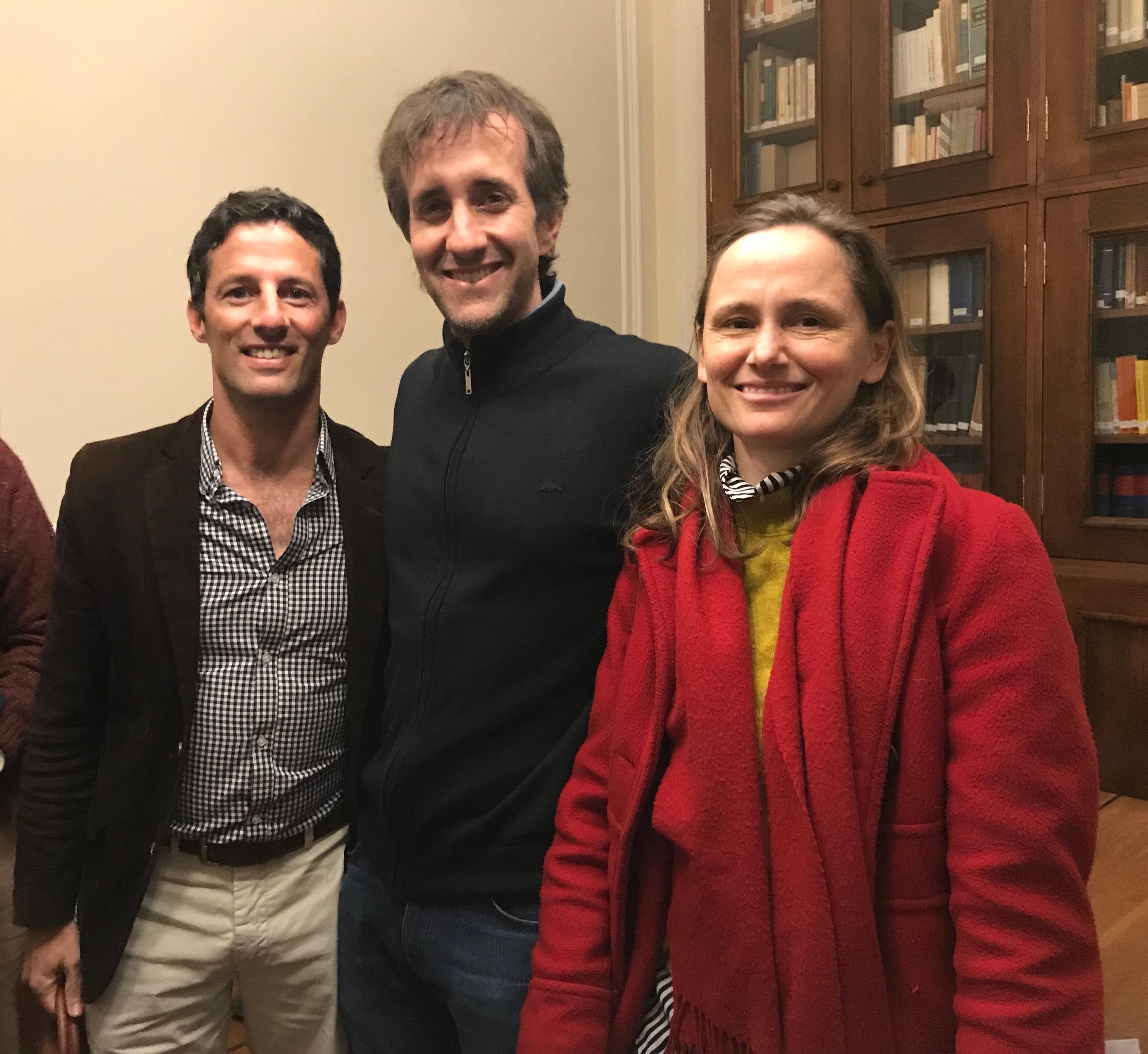 Ricardo, Francisco y Carolina