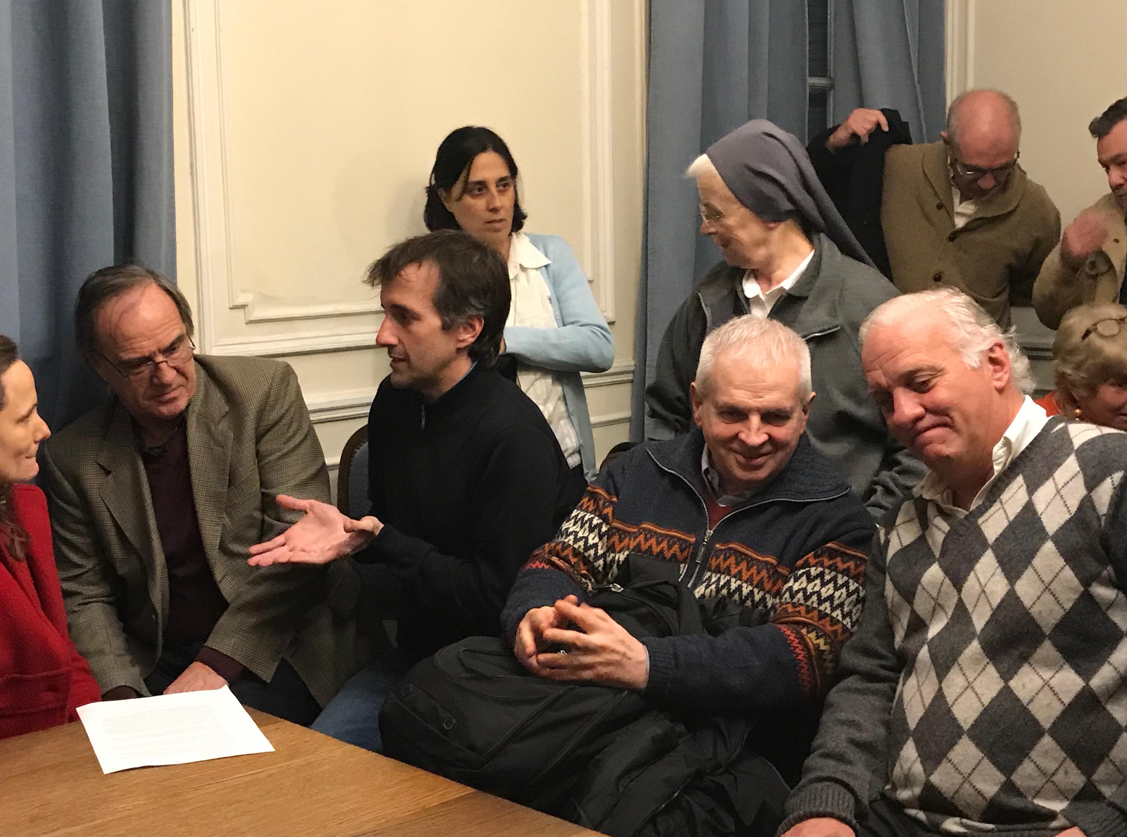 Maria Ana, Francisco, Alberto, Jorge
