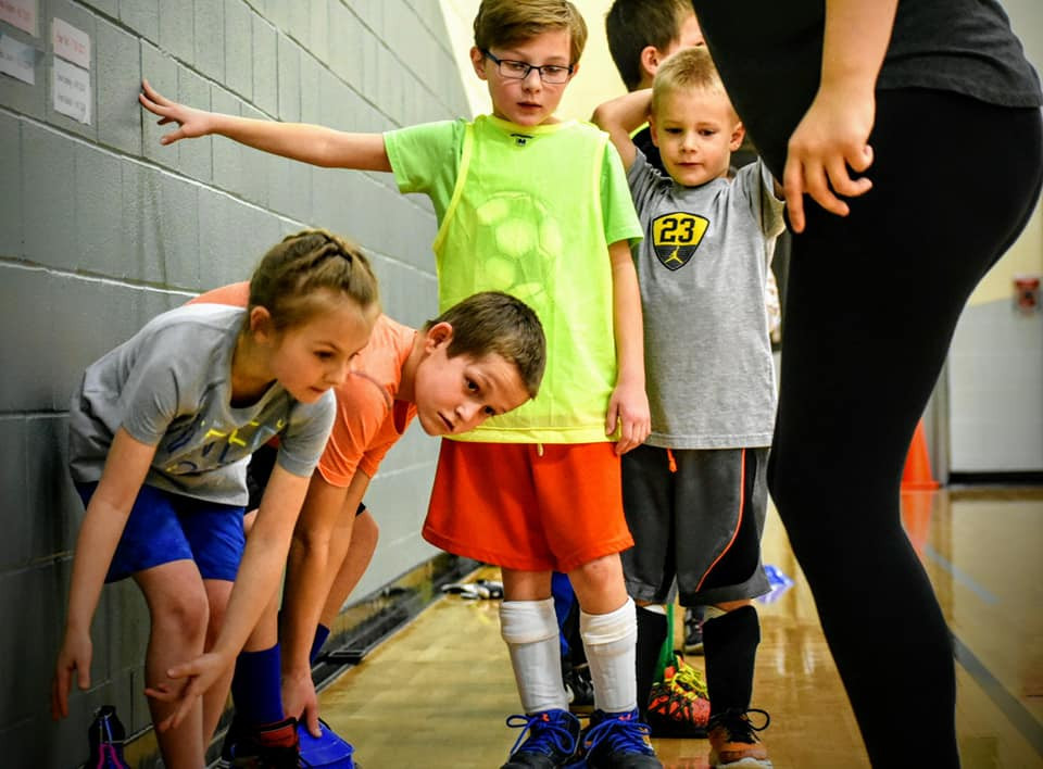 Agility Ladder Training:  Showing Kids the Path!