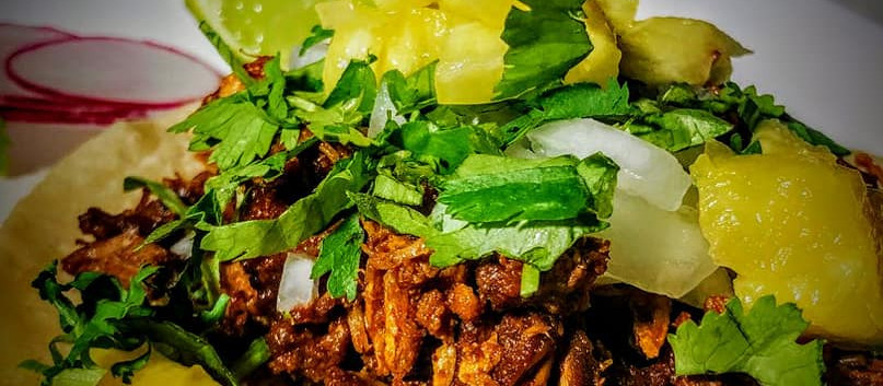 PULLED PORK & PINEAPPLE TACOS