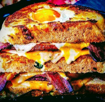 HOW IS YOUR BREAKFAST SANDWICH FOR LUNCH?