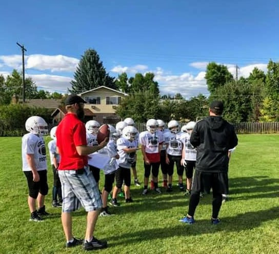 Youth Football:  Teamwork, Trust, Hard Work, Confidence, Fun!