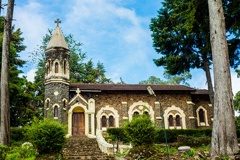 german church, Kodaikanal