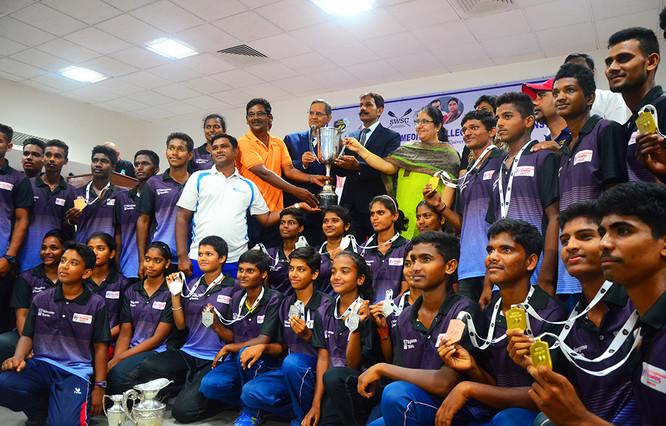 Telangana Rowing team