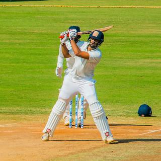 Jonty Sidhu scores an unbeaten 150 for Delhi against Tamil Nadu in the Ranji trophy