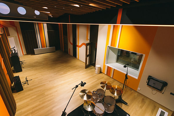 trummor drums live room studio
