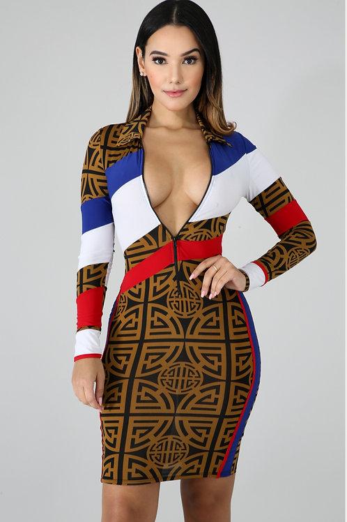 Queen Body Con Dress